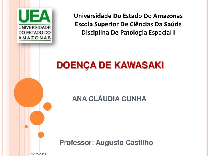 Universidade Do Estado Do Amazonas                Escola Superior De Ciências Da Saúde                  Disciplina De Pato...