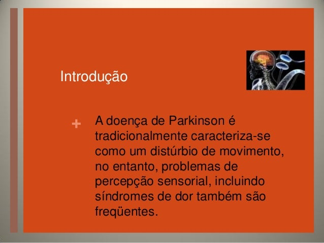 Doença de Parkinson Slide 2