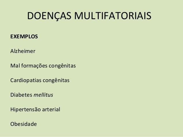 Caracteristicas geneticas exemplos