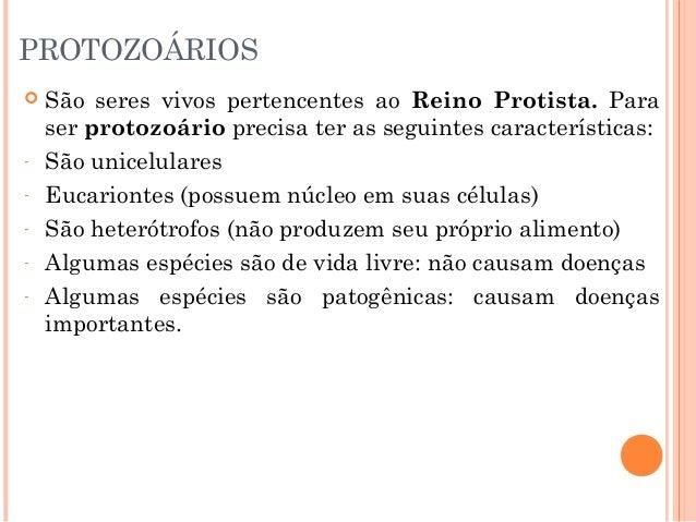 Doenças causadas por protozoários e vermes Slide 2