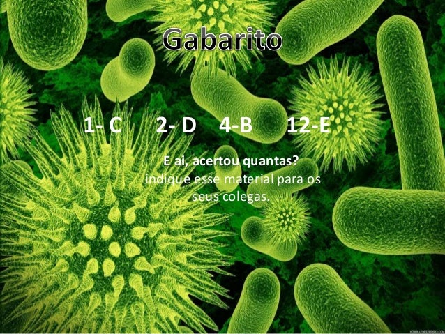 • 1- C 2- D 4-B 12-E E ai, acertou quantas? indique esse material para os seus colegas.