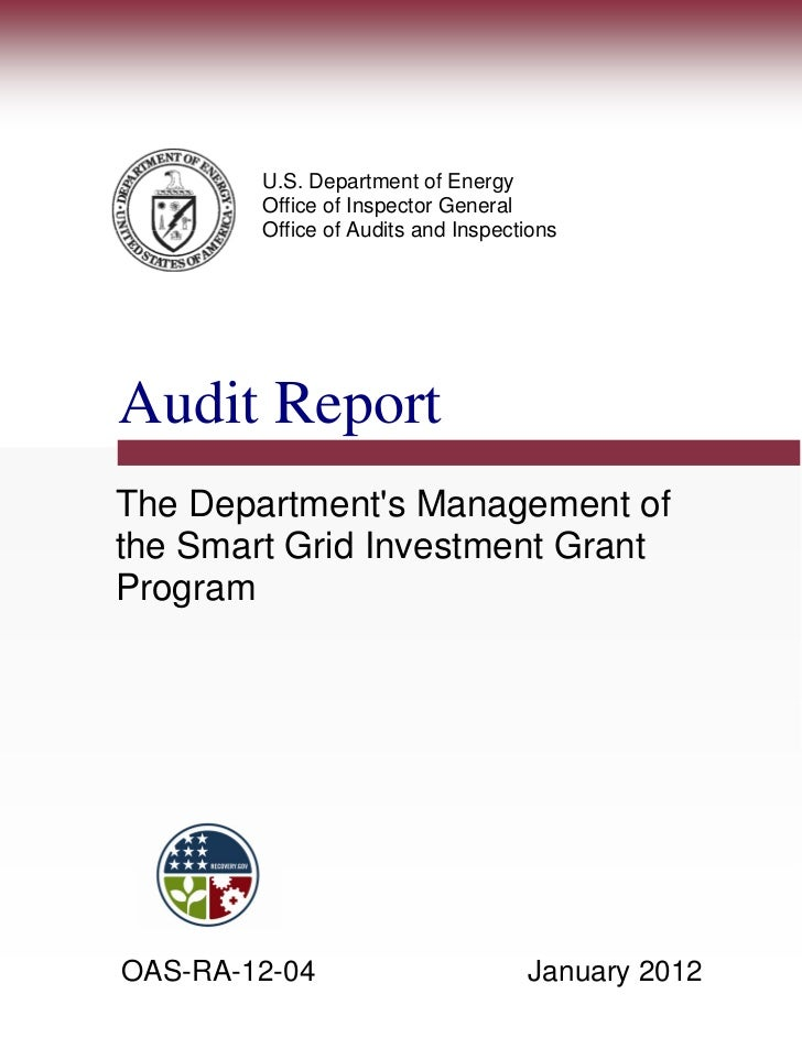 U.S. Department of Energy        Office of Inspector General        Office of Audits and InspectionsAudit ReportThe Depart...