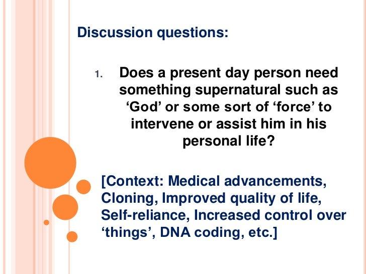 Existence of God - Does God really exist? Slide 2