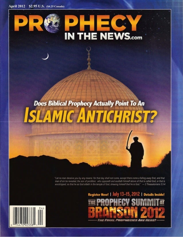 Inside This Issue An Islamic Antichrist? ....................... 3 In the last few years, a number ofWliters have advanced...