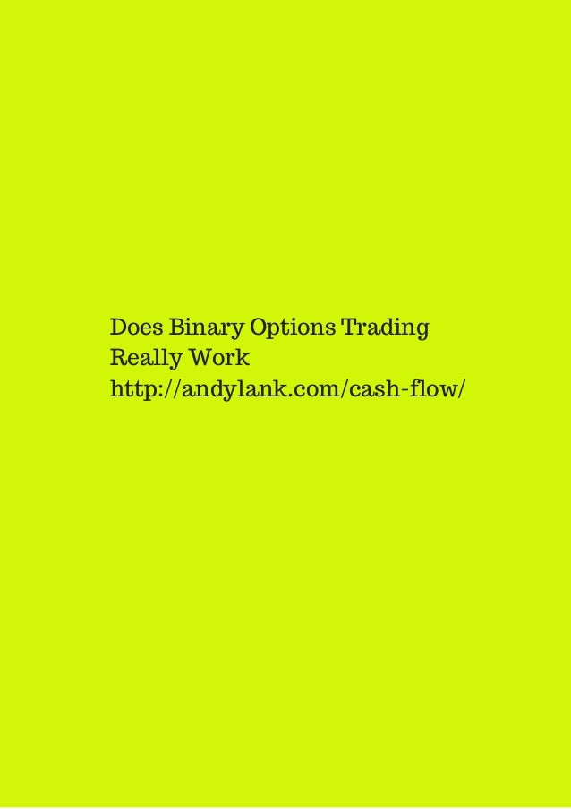 Does options trading work