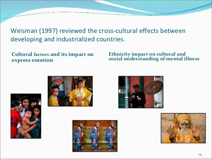 understanding the relationship between mental illness and ethnicity Learn how samhsa programs and resources support preventing and ending homelessness among people with mental and/or substance use disorders grant programs and services samhsa's formula and discretionary grant programs support many types of behavioral health treatments and recovery-oriented services.