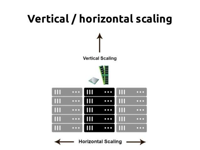 Vertical / horizontal scaling