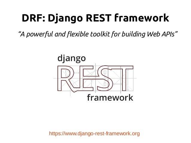 Other Python web frameworks