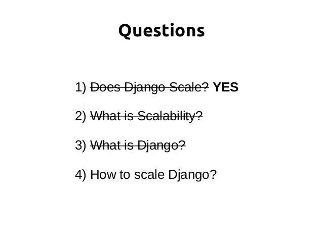 """High Performance Django"" book https://highperformancedjango.com"