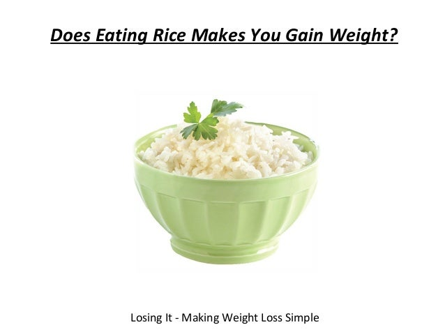 lose weight with basmati rice