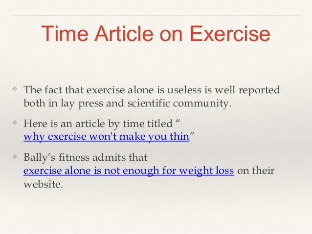 how to lose weight with very little exercise