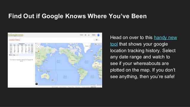Google and apple know where you