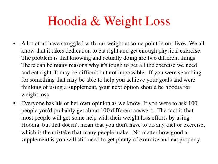 Hoodia Weight Loss Stories
