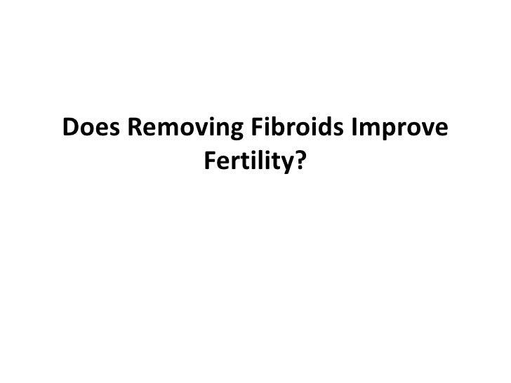 Does Removing Fibroids Improve Fertility?<br />