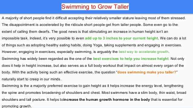 does make you taller