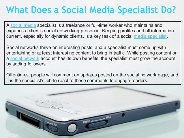 does your company need a social media specialist