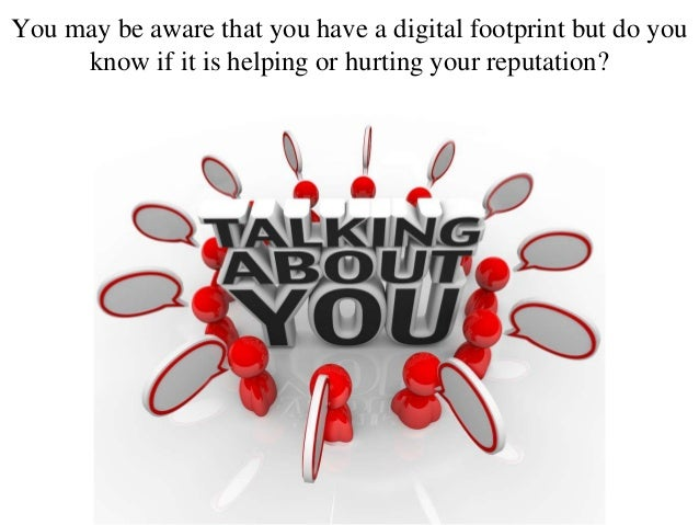 how to find your digital footprint
