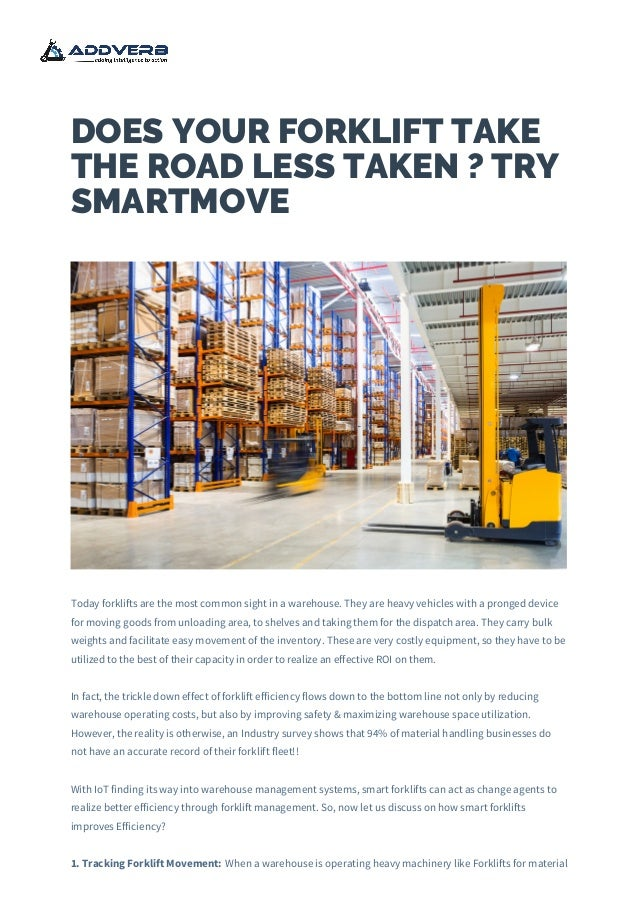 Warehouse Automation - Asset Tracking in Warehouses