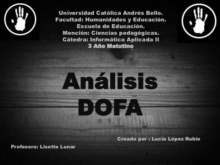 Universidad Católica Andrés Bello.<br />Facultad: Humanidades y Educación.<br />Escuela de Educación.<br />Mención: Cienci...