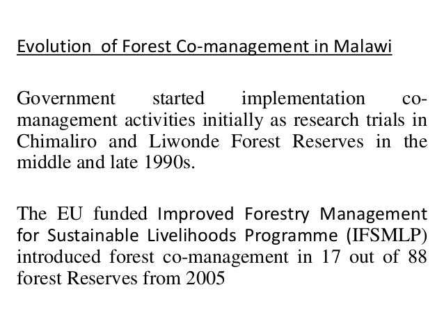 management of forest resources There are many online resources to help you develop a forest management plan these resources are organized according to each section in the oregon forest management plan.