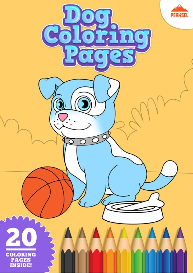 Dog Coloring Pages - Coloring Book For Kids