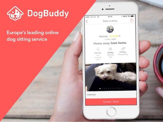 dogbuddy presentation at tech job fair