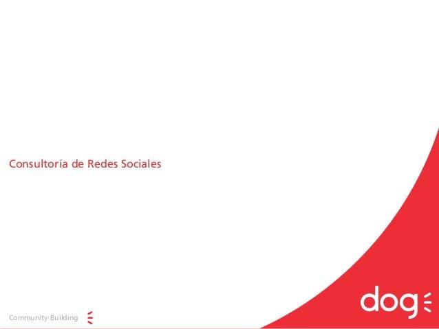 Consultoría de Redes Sociales Community Building