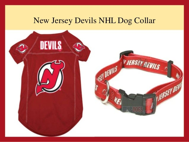 281d2cba537 Vancouver Canucks NHL Dog Collar and Jersey; 7. New Jersey Devils ...