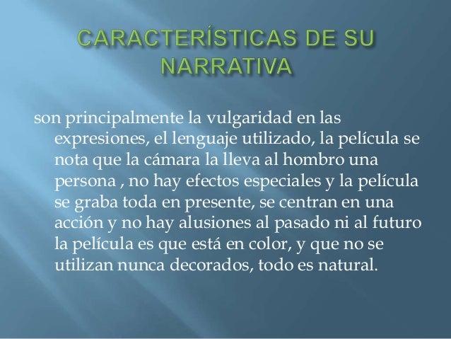  Principalmente lo hacían para desarrollar uncine que se basara en valores tradicionales talescomo la historia, Creando p...