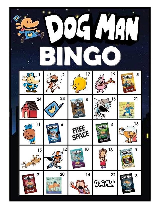 Dog Man BINGO Boards Slide 2