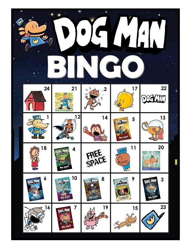Dog Man BINGO Boards Slide 3