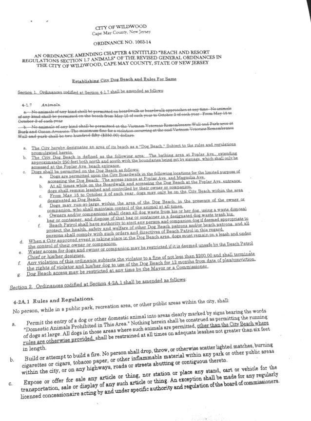 Dog ordinance (1)