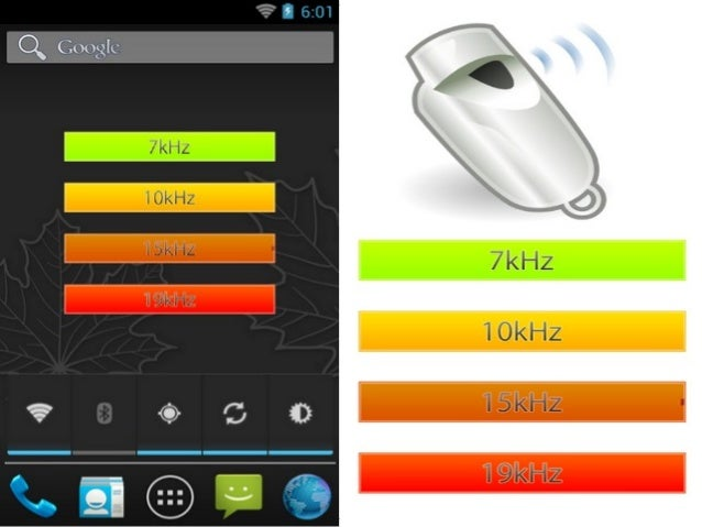 Whistle app for android