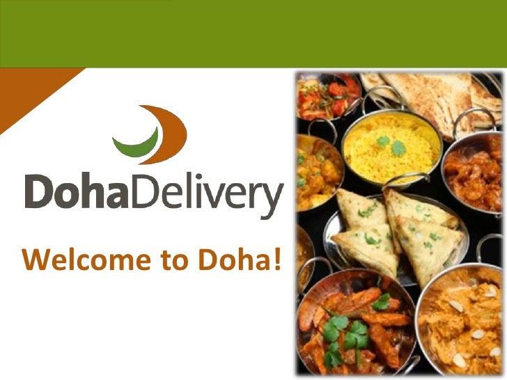 Welcome to Doha!<br />