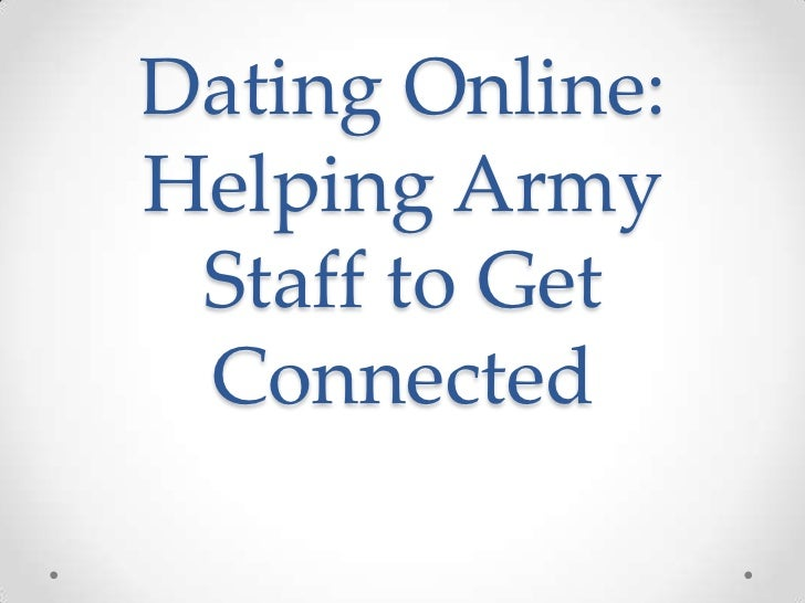 Army dating online
