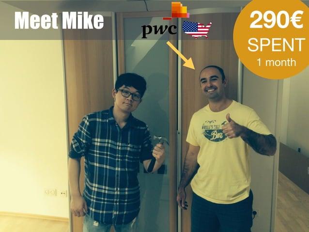 Meet Mike 290€ SPENT  1 month