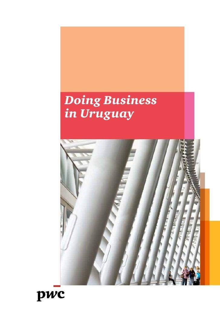 Doing Businessin Uruguay