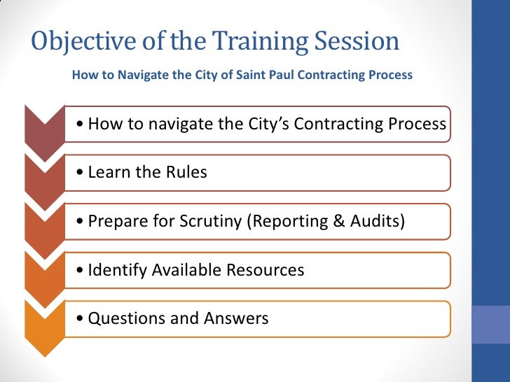 Doing Business with City of St Paul