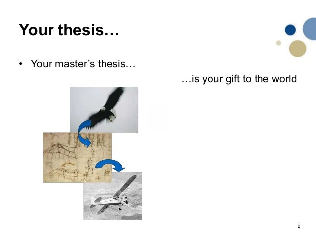 Master's Thesis: A Guide That Works | HandMadeWriting
