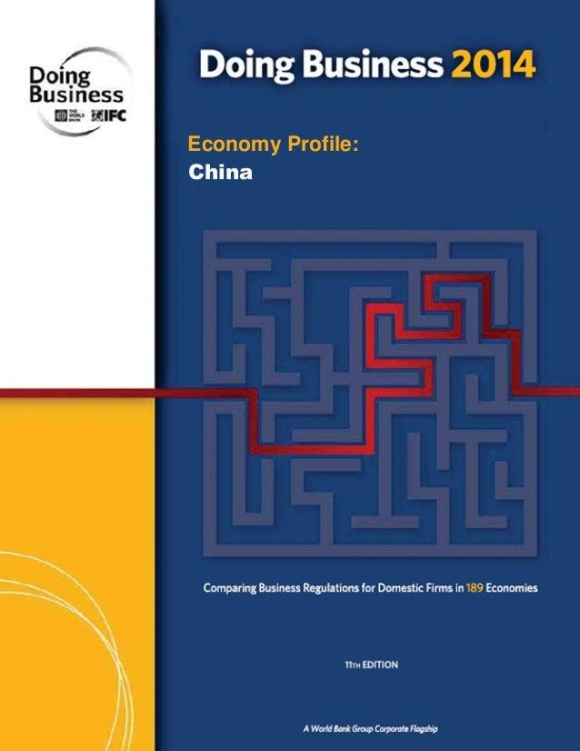Economy Profile: China