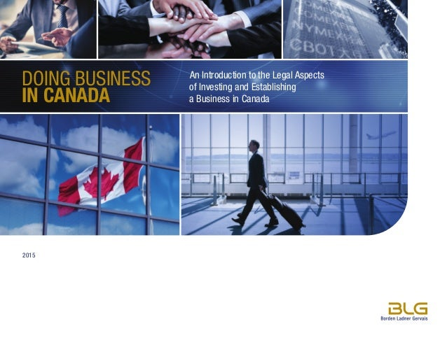 GST and Doing Business in Canada