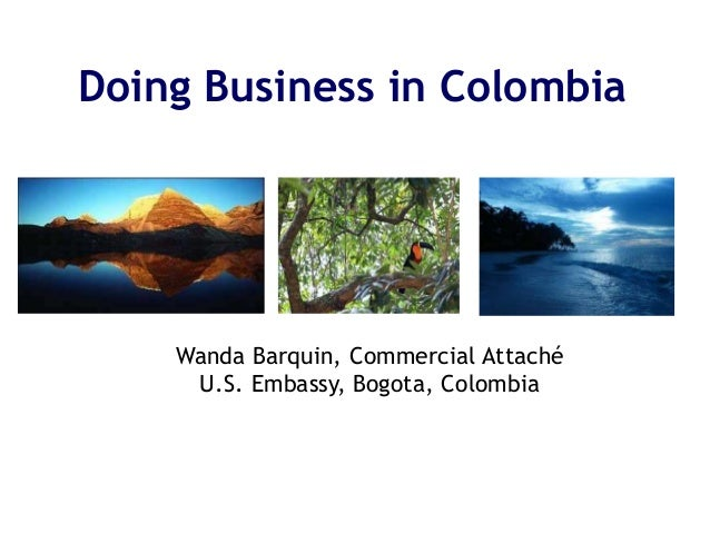 Doing Business in Colombia 2015