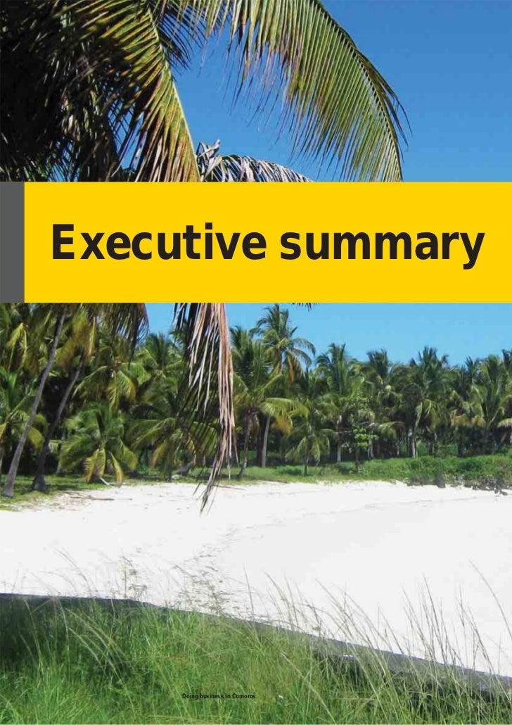 Doing business in comoros executive summary6 doing business in comoros sciox Images