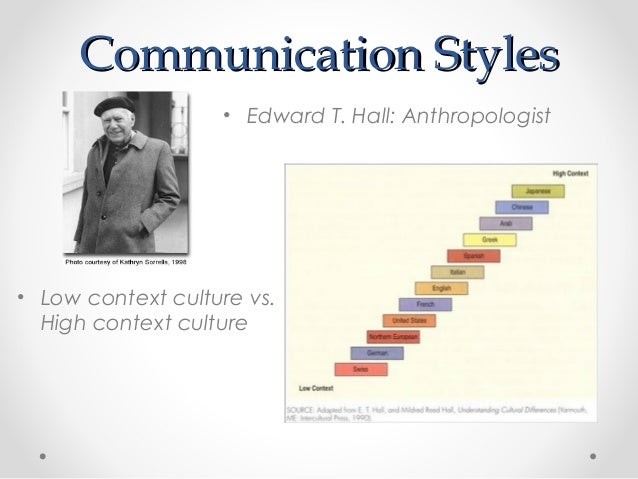 the anthropology of manners by edward t hall On a meditation that directly resulted from the anthropological research  conducted by  pológica de edward t hall con el propósito de considerar  críticamente la  with which a certain culture evolves and develops (kaplan &  manners, 1972.