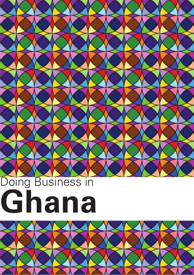 Doing Business inGhana
