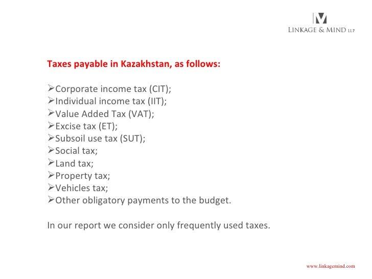 Doing business in Kazakhstan (Linkage & Mind) Slide 3