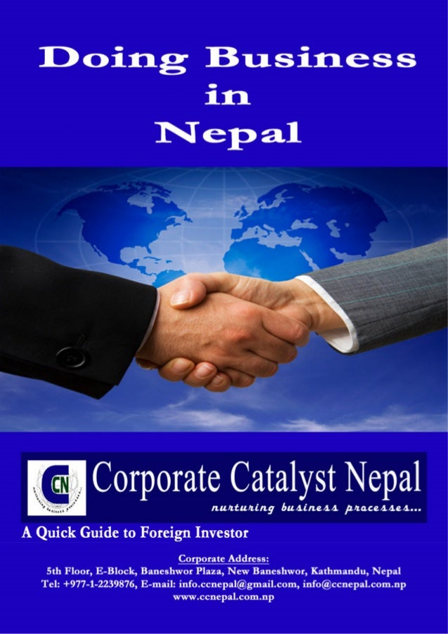 www.ccnepal.com.np Source: Department of Industry, Government of Nepal Welcome to Nepal