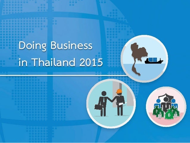 Doing Business in Thailand 2015
