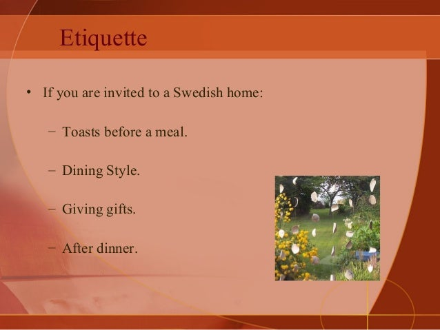 Doing business with sweden etiquette reheart Choice Image