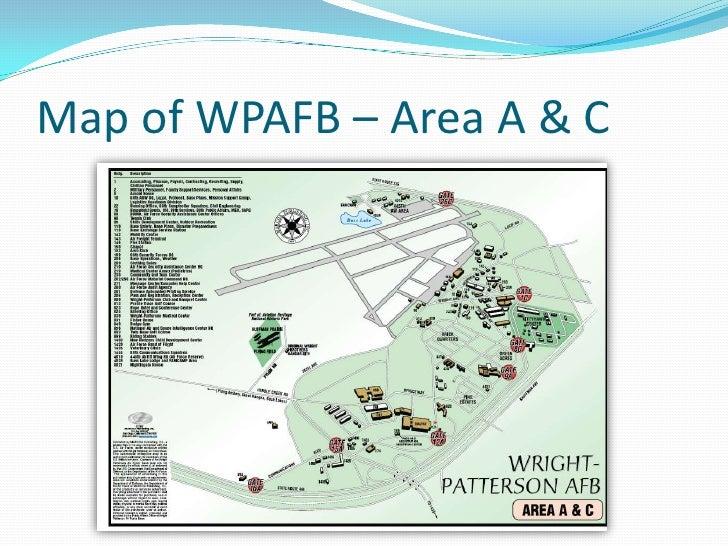 Wpafb area B Map  My blog